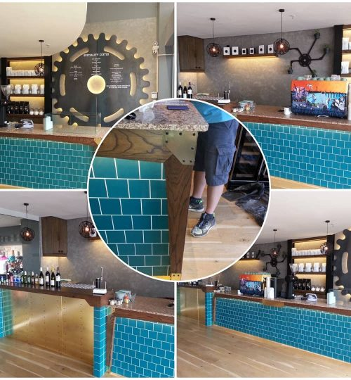 The Grind Coffee Bar in Melrose Arch